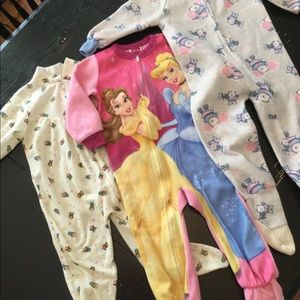 Other - Bundle of 3T footed pajamas